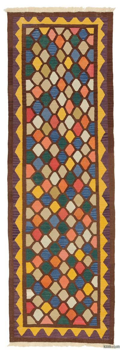 "New Turkish Kilim Runner - 2' 10"" x 5' 8"" (34 in. x 68 in.)"