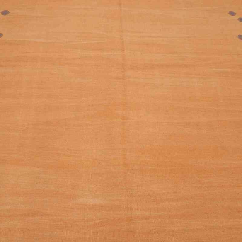 Sarı Yeni Kök Boya El Dokuma Kilim - 174 cm x 237 cm - K0036519