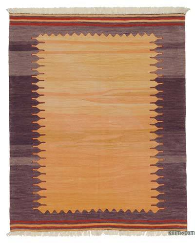 "New Handwoven Turkish Kilim Rug - 4'8"" x 5'8"" (56 in. x 68 in.)"