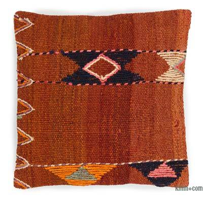 "Kilim Pillow Cover - 1'4"" x 1'4"" (16 in. x 16 in.)"