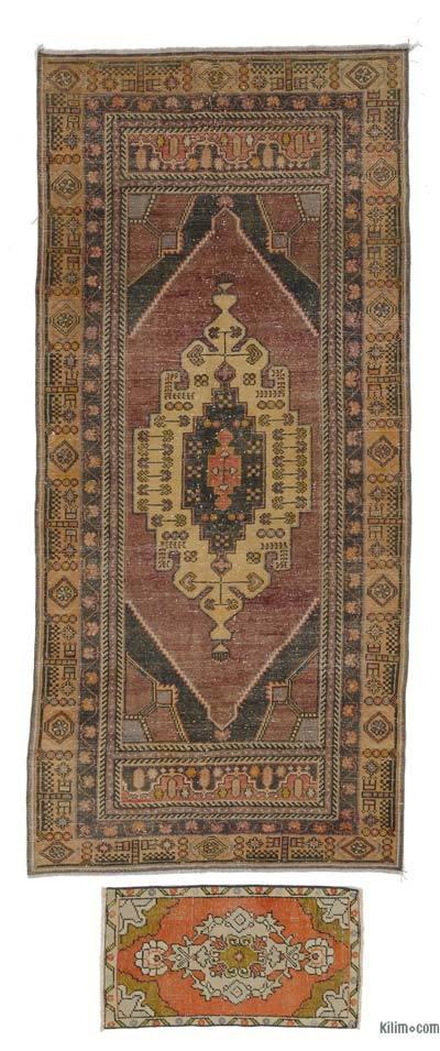 Alfombra Turca Vintage - 130 cm x 281 cm