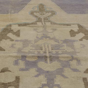 """Vintage Turkish Hand-Knotted Rug - 4' 4"""" x 6' 10"""" (52 in. x 82 in.) - K0036915"""