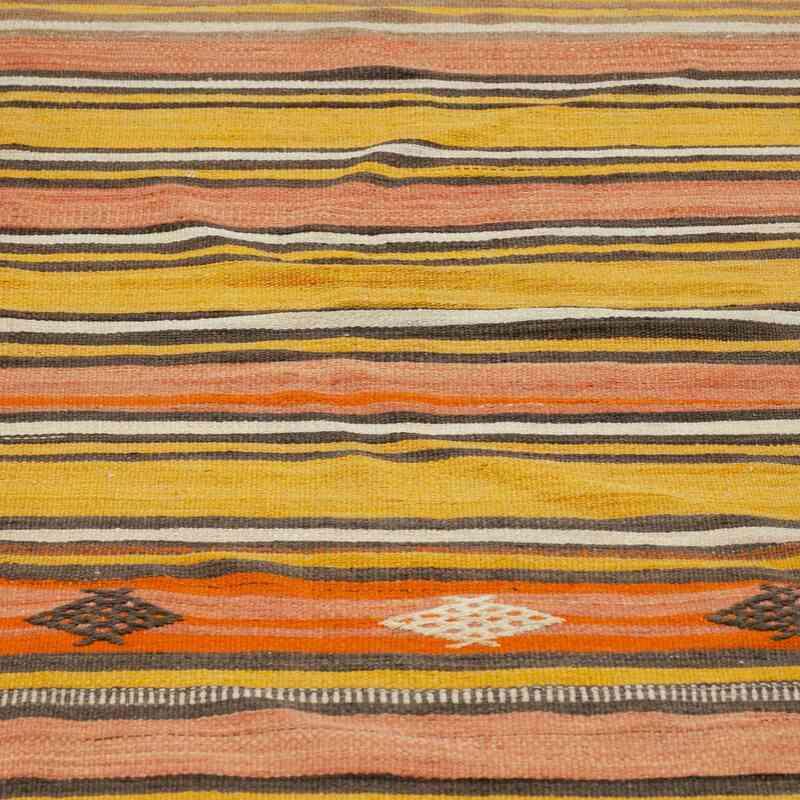 """Multicolor Vintage Cappadocia Kilim Runner - 2' 9"""" x 9' 8"""" (33 in. x 116 in.) - K0036957"""