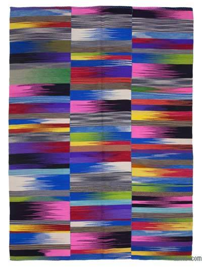 Çok Renkli Yeni Anadolu Kilimi - 207 cm x 293 cm