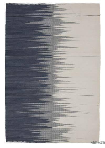 Gri, Bej Yeni Anadolu Kilimi - 178 cm x 260 cm