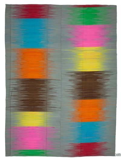 Çok Renkli Yeni Anadolu Kilimi - 297 cm x 407 cm