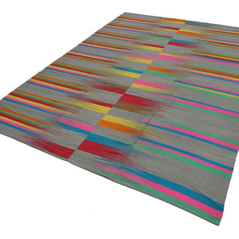 Çok Renkli Yeni Anadolu Kilimi - 295 cm x 400 cm - K0037067