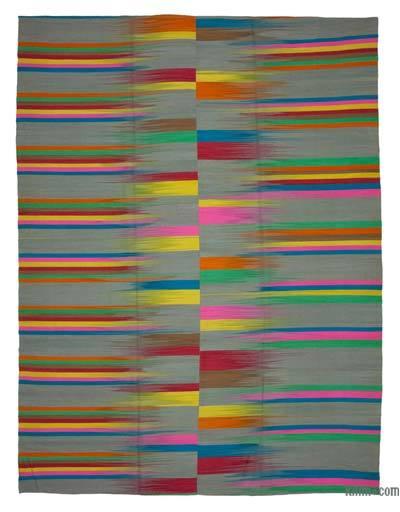 Çok Renkli Yeni Anadolu Kilimi - 295 cm x 400 cm