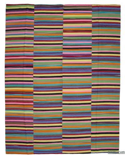 Çok Renkli Yeni Anadolu Kilimi - 296 cm x 389 cm