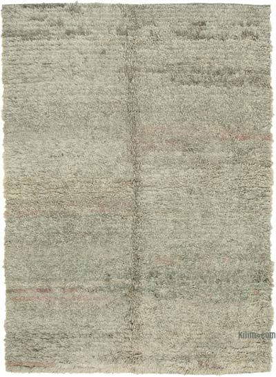 "New Contemporary Hand-Knotted Wool Rug - 6' 9"" x 9' 6"" (81 in. x 114 in.)"