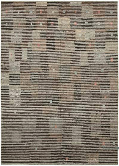 """New Contemporary Hand-Knotted Wool Rug - 10'  x 14' 2"""" (120 in. x 170 in.)"""