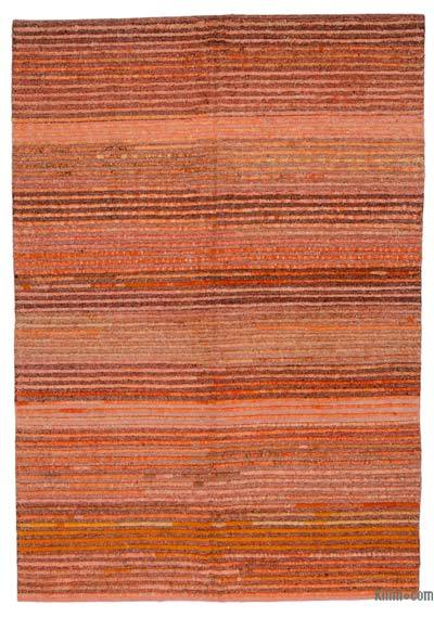 "New Contemporary Hand-Knotted Wool Rug - 6' 7"" x 9' 5"" (79 in. x 113 in.)"