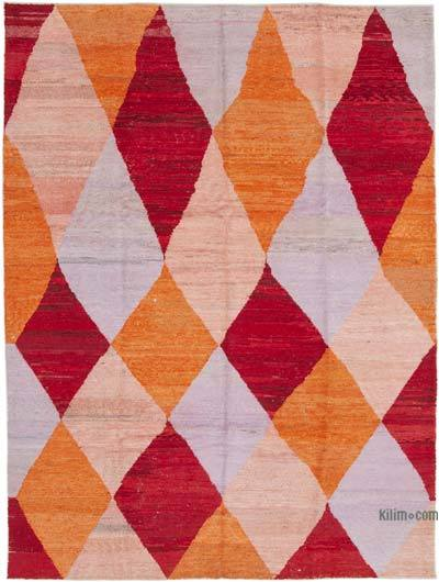 "New Contemporary Hand-Knotted Wool Rug - 8' 6"" x 11' 8"" (102 in. x 140 in.)"