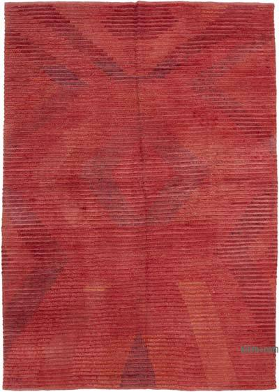 """New Contemporary Hand-Knotted Wool Rug - 8' 3"""" x 11' 9"""" (99 in. x 141 in.)"""
