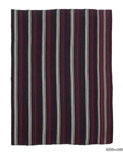 "Vintage Anatolian Kilim Rug - 6' 4"" x 8' 4"" (76 in. x 100 in.)"