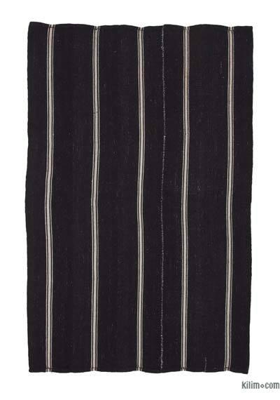 "Vintage Anatolian Kilim Rug - 5'9"" x 8'9"" (69 in. x 105 in.)"