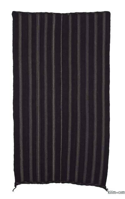 "Vintage Anatolian Kilim Rug - 5'6"" x 10'3"" (66 in. x 123 in.)"