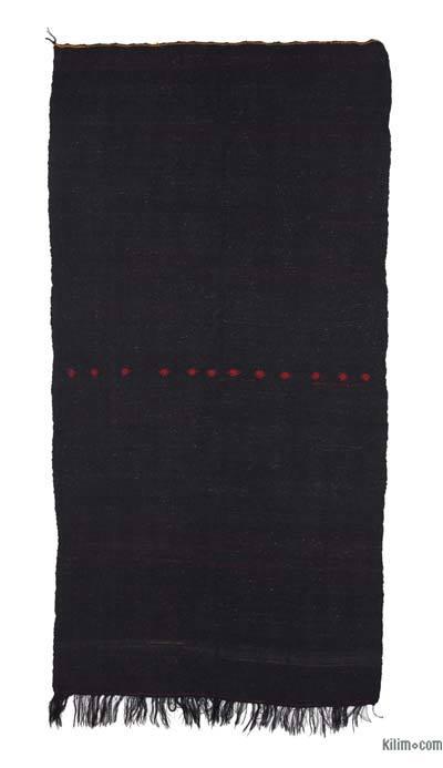 "Vintage Anatolian Kilim Rug - 5' 4"" x 10' 7"" (64 in. x 127 in.)"