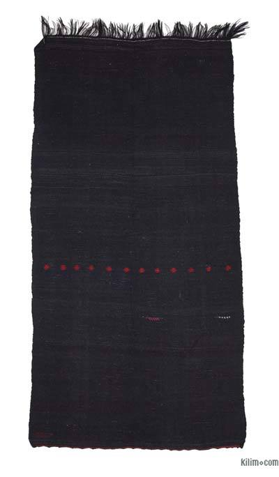 Marrón Alfombra Vintage Anatolian Kilim - 174 cm x 336 cm