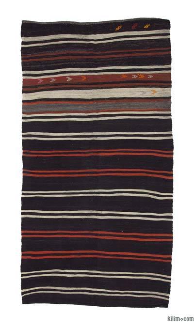 Alfombra Vintage Anatolian Kilim - 167 cm x 317 cm