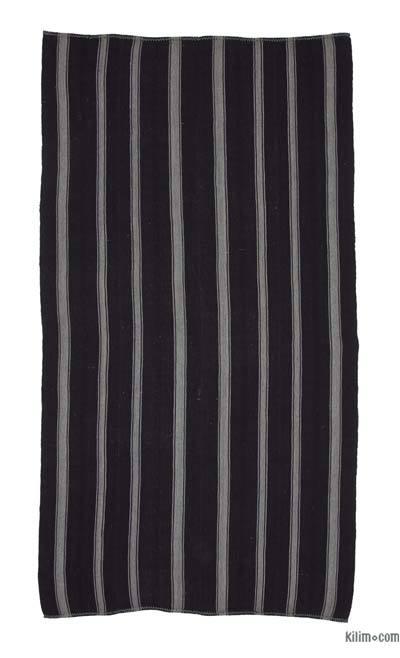 Vintage Anadolu 'Kıl' Kilim - 184 cm x 333 cm