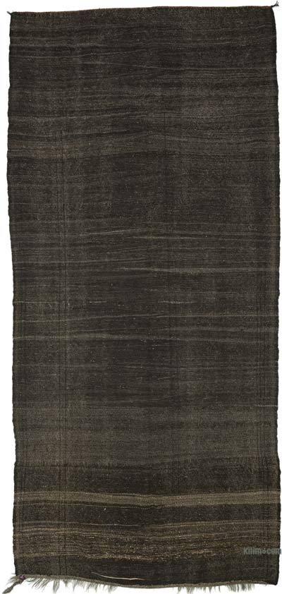 Marrón Alfombra Vintage Anatolian Kilim - 182 cm x 385 cm