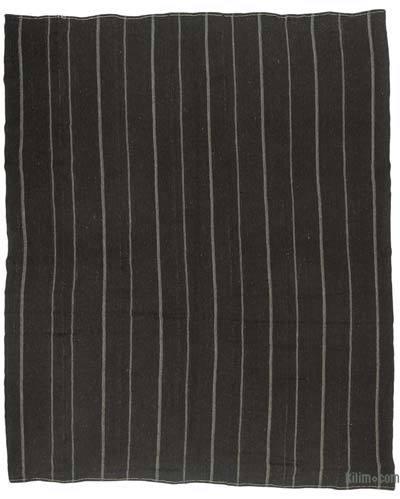 "Vintage Anatolian Kilim Rug - 10'4"" x 12'4"" (124 in. x 148 in.)"