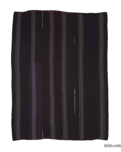 Kahverengi Vintage Anadolu 'Kıl' Kilim - 225 cm x 300 cm