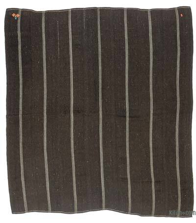 "Vintage Anatolian Kilim Rug - 9' 10"" x 10' 4"" (118 in. x 124 in.)"