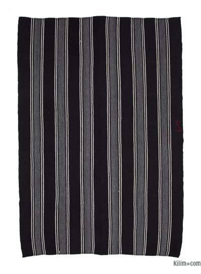 Vintage Anadolu 'Kıl' Kilim - 224 cm x 325 cm