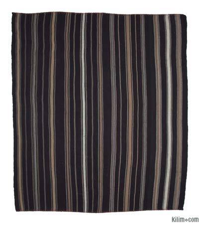 "Vintage Anatolian Kilim Rug - 11'11"" x 13'5"" (143 in. x 161 in.)"