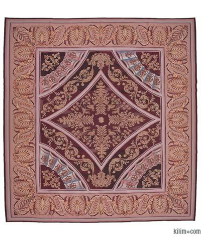 "Aubusson Rug - 11'11"" x 12'7"" (143 in. x 151 in.)"