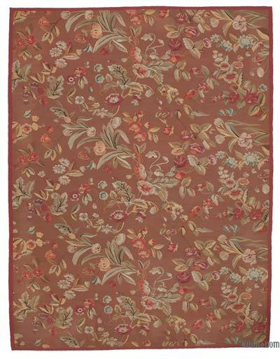 "Aubusson Rug - 9' 1"" x 11' 9"" (109 in. x 141 in.)"