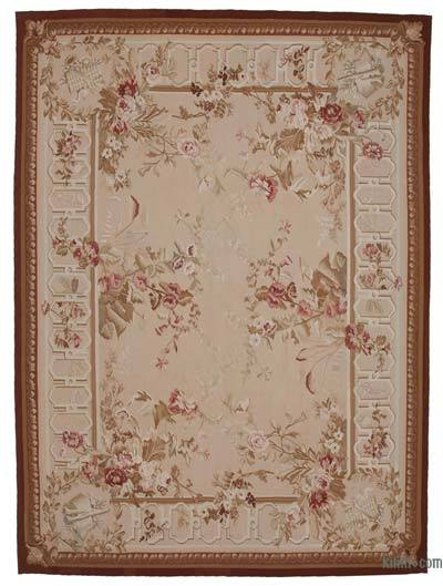 "Aubusson Rug - 8' 10"" x 12'  (106 in. x 144 in.)"