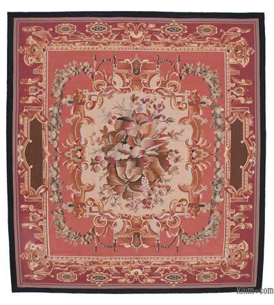 "Aubusson Rug - 9'11"" x 10'10"" (119 in. x 130 in.)"