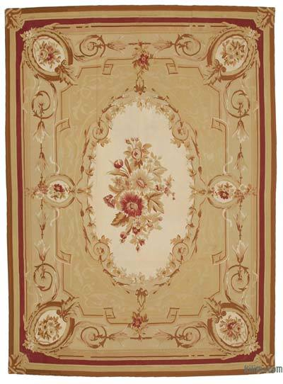 "Aubusson Rug - 8' 8"" x 11' 11"" (104 in. x 143 in.)"