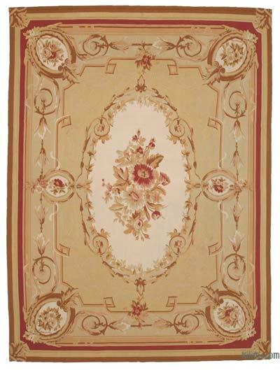 "Aubusson Rug - 8' 9"" x 12' 2"" (105 in. x 146 in.)"