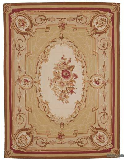 "Aubusson Rug - 8' 11"" x 11' 11"" (107 in. x 143 in.)"
