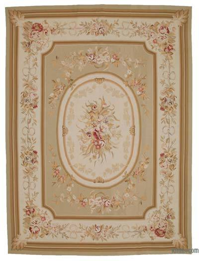 """Aubusson Rug - 8' 11"""" x 11' 11"""" (107 in. x 143 in.)"""