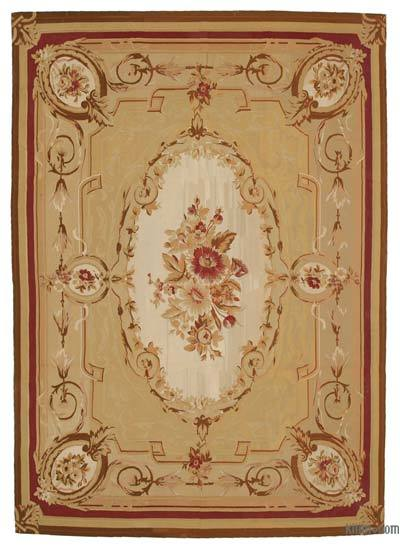 "Aubusson Rug - 8' 6"" x 12' 1"" (102 in. x 145 in.)"