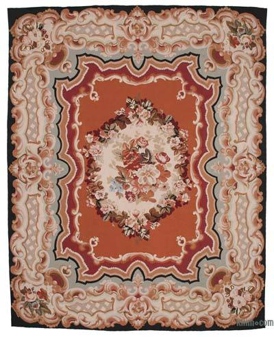 "Aubusson Rug - 9' 6"" x 12' 1"" (114 in. x 145 in.)"