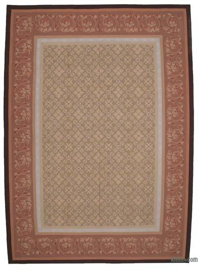 "Aubusson Rug - 9' 11"" x 13' 9"" (119 in. x 165 in.)"