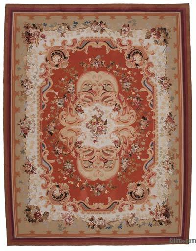 "Aubusson Rug - 10'3"" x 13'4"" (123 in. x 160 in.)"