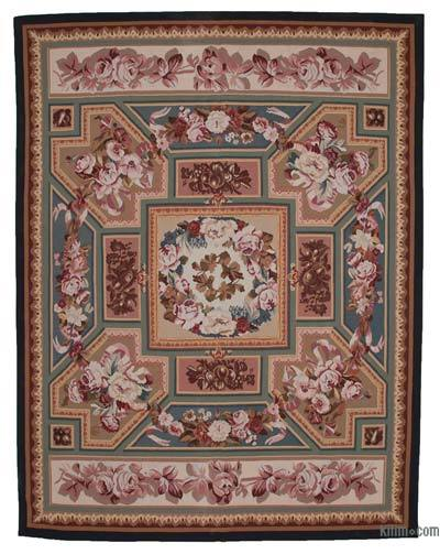 "Aubusson Rug - 9' 3"" x 11' 11"" (111 in. x 143 in.)"