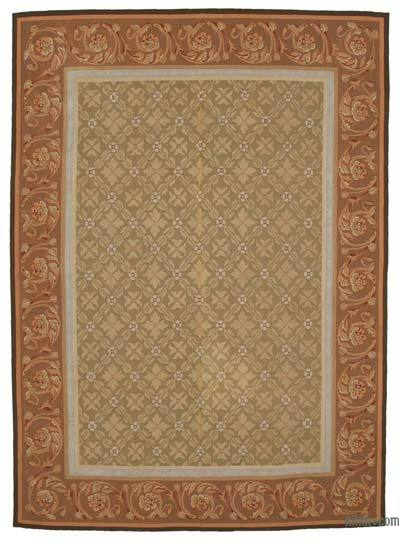 "Aubusson Rug - 8' 7"" x 11' 11"" (103 in. x 143 in.)"