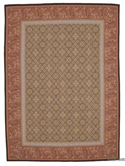 """Aubusson Rug - 8'8"""" x 12' (104 in. x 144 in.)"""