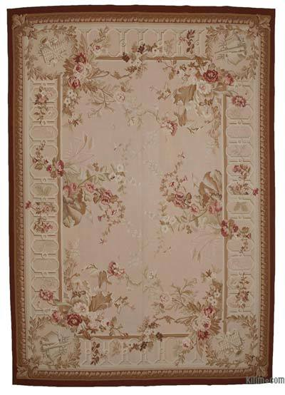"Aubusson Rug - 9' 10"" x 14' 1"" (118 in. x 169 in.)"
