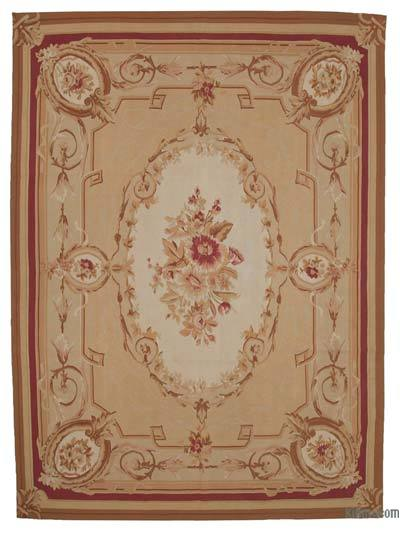 """Aubusson Rug - 8' 10"""" x 12'  (106 in. x 144 in.)"""