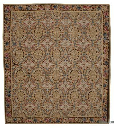 "Aubusson Rug - 11'1"" x 12'6"" (133 in. x 150 in.)"