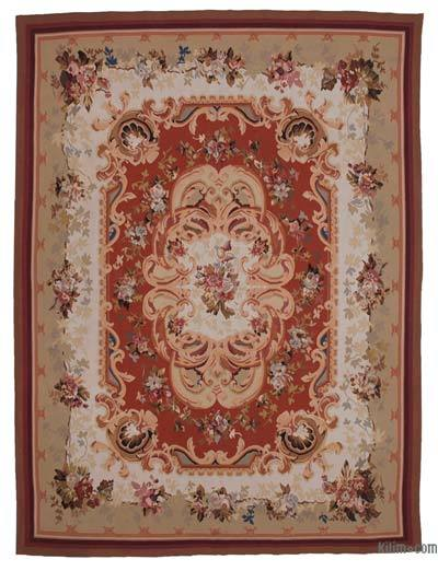 "Aubusson Rug - 8' 11"" x 12'  (107 in. x 144 in.)"